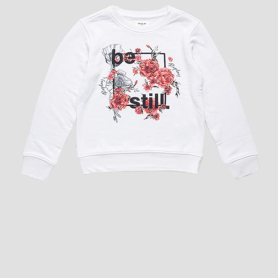REPLAY BE STILL crewneck sweatshirt sg2059.063.23154