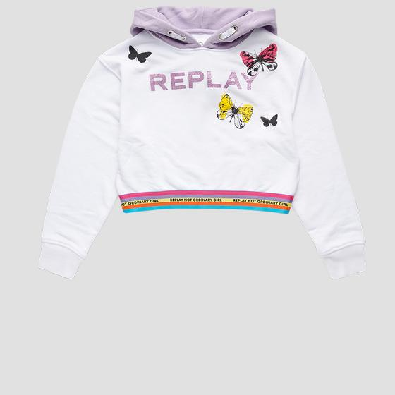 REPLAY NOT ORDINARY GIRL sweatshirt sg2421.052.23154