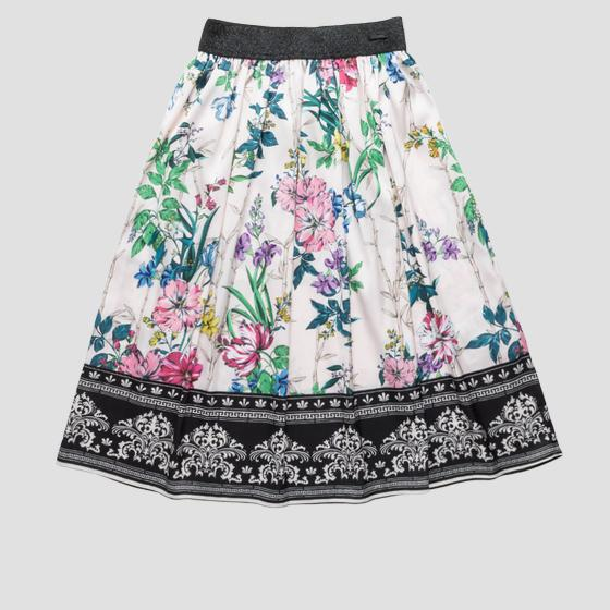 Long skirt with floral print sg4703.054.80822kl