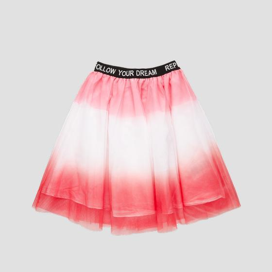 REPLAY pleated tulle skirt sg4720.051.80004