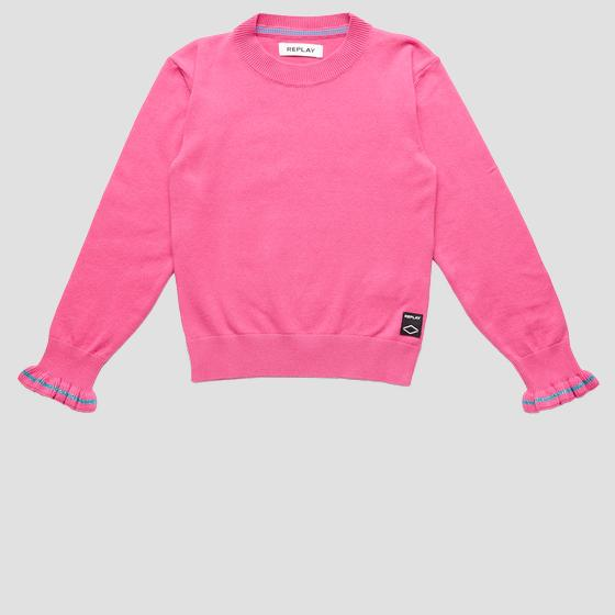Hyperflex cotton crewneck sweater sg5010.050.g22920