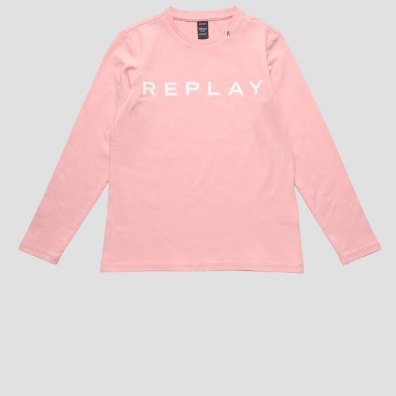 Long-sleeved REPLAY t-shirt sg7091.010.20230