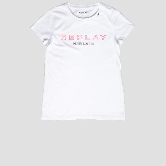 T-Shirt mit REPLAY-Aufdruck sg7400.063.20994