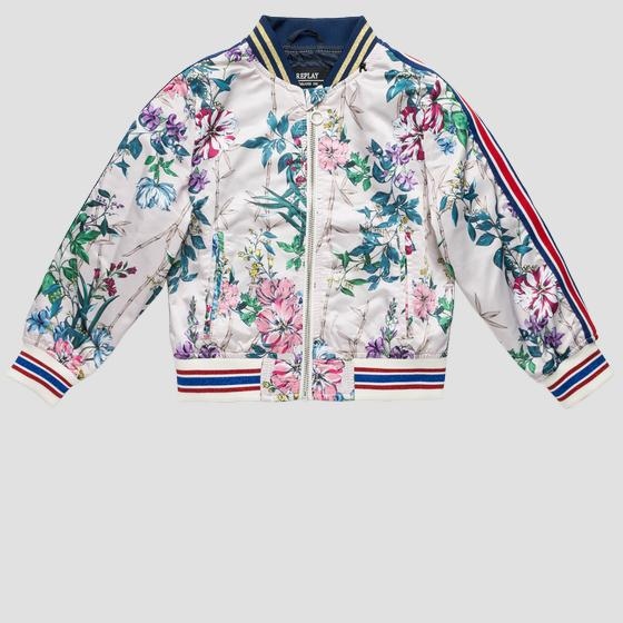 Bomber jacket with floral print sg8196.050.83306kg