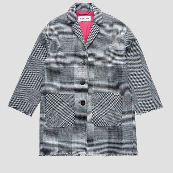 Checked coat sg8221.050.83566