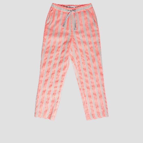 Trousers with fluorescent stripes sg9331.050.52296