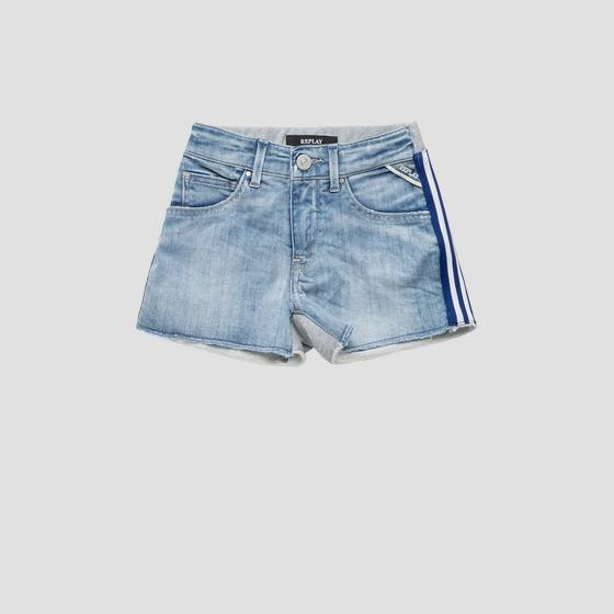 Shorts in denim e felpa sg9576.050.1025134