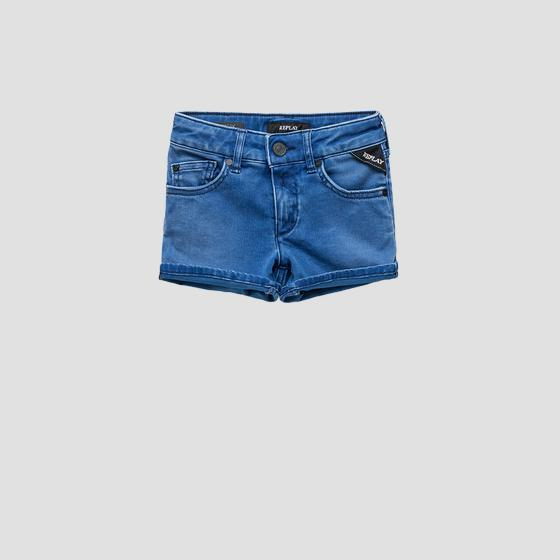 Shorts aus Hyperflex Denim sg9581.050.661 di2