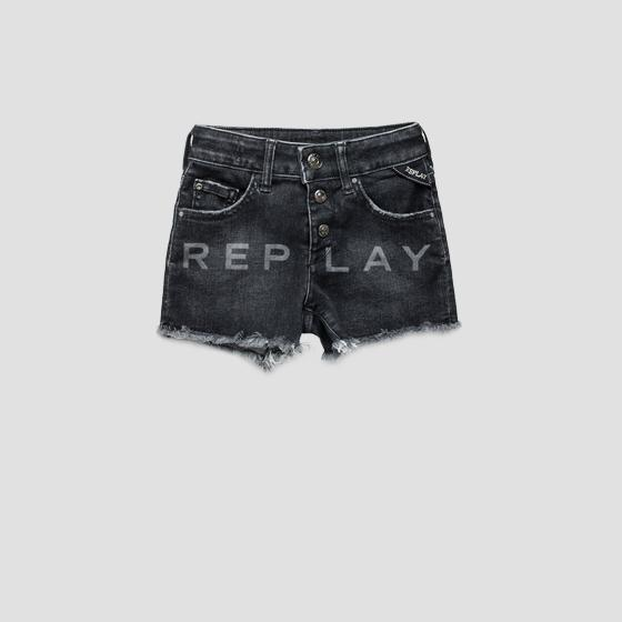 Shorts denim scritta REPLAY sg9582.050.75c 480