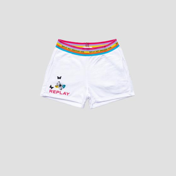 NOT ORDINARY GIRL fleece shorts sg9603.050.23154