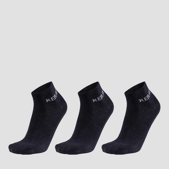 Basic low-cut socks 3pack tu629 .000.c100629