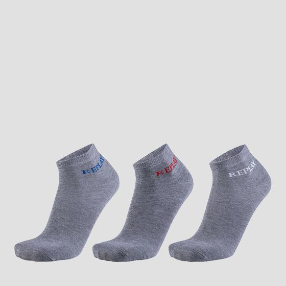 Basic low-cut socks 3pack tu630 .000.c100630