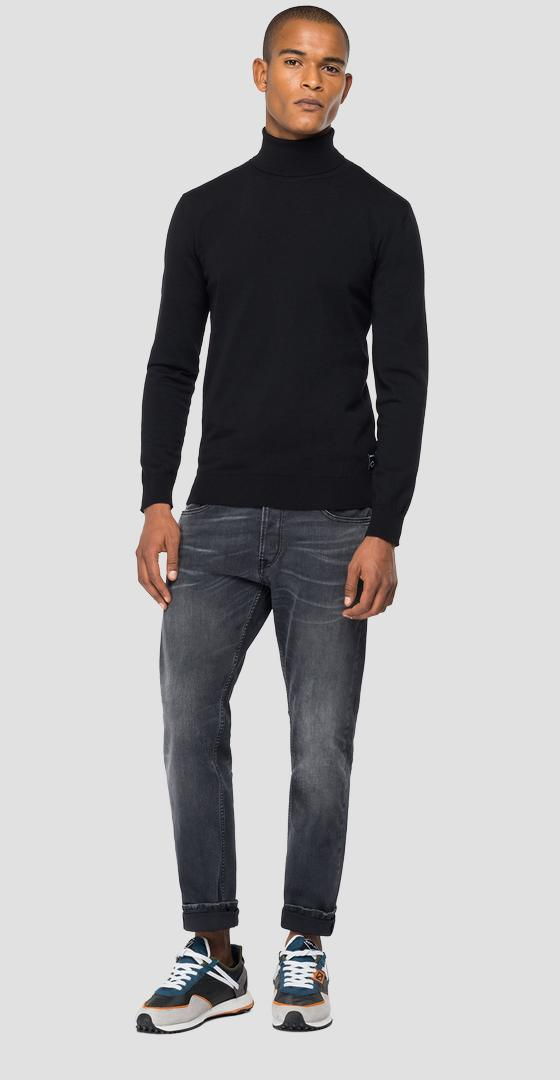 Hyperflex Merino turtleneck sweater uk8020.000.g22734