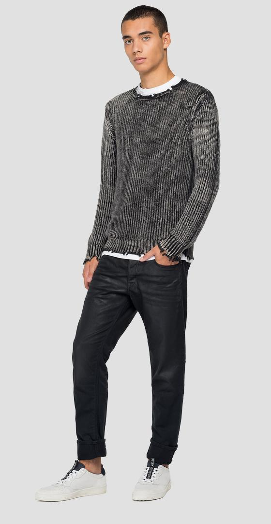 Pull ras-du-cou effet used uk8261.000.g22454a
