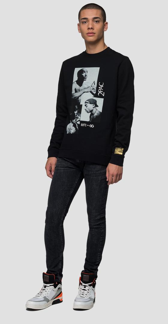 Replay Tribute Tupac Limited Edition sweatshirt ux3000.000.21842