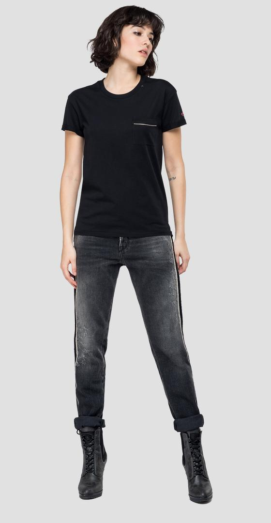 T-shirt with pocket w3242 .000.22748