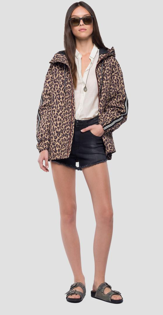 Animalier jacket with hood w7505 .000.71752
