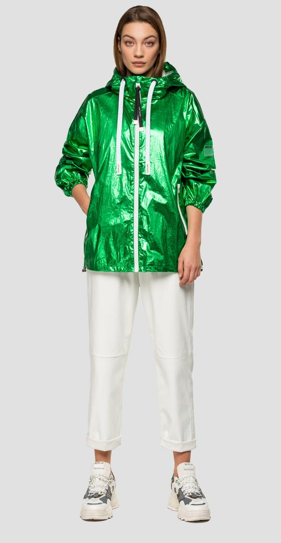 Laminated Replay jacket w7551b.000.83588