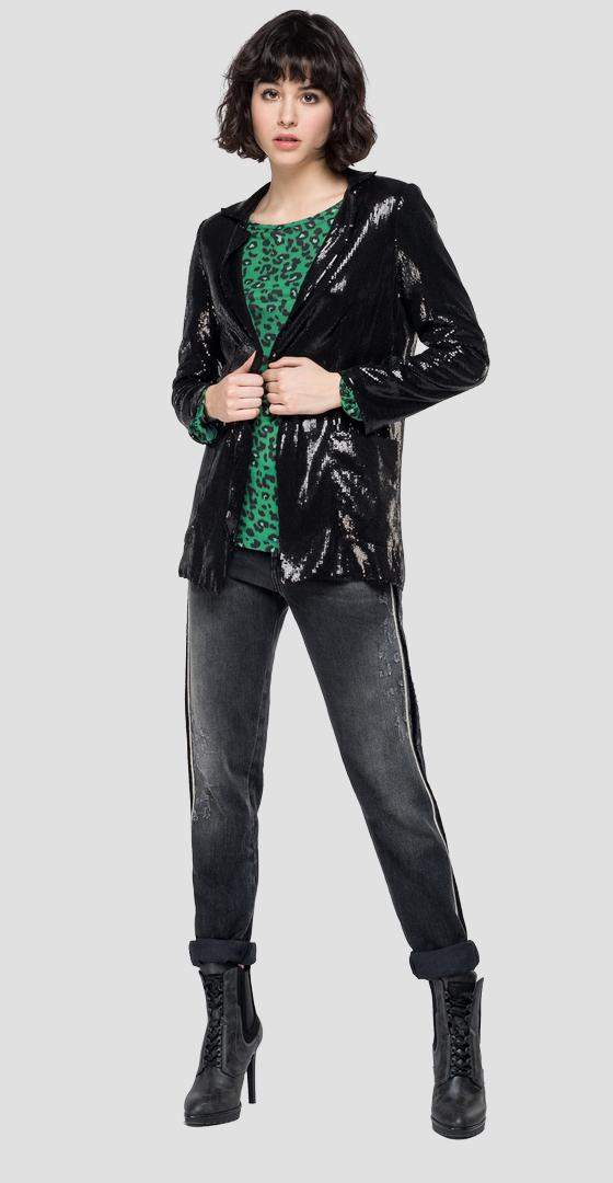 Jacket with sequins w7573 .000.83452