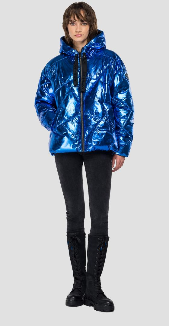 Laminated padded jacket w7609 .000.83850