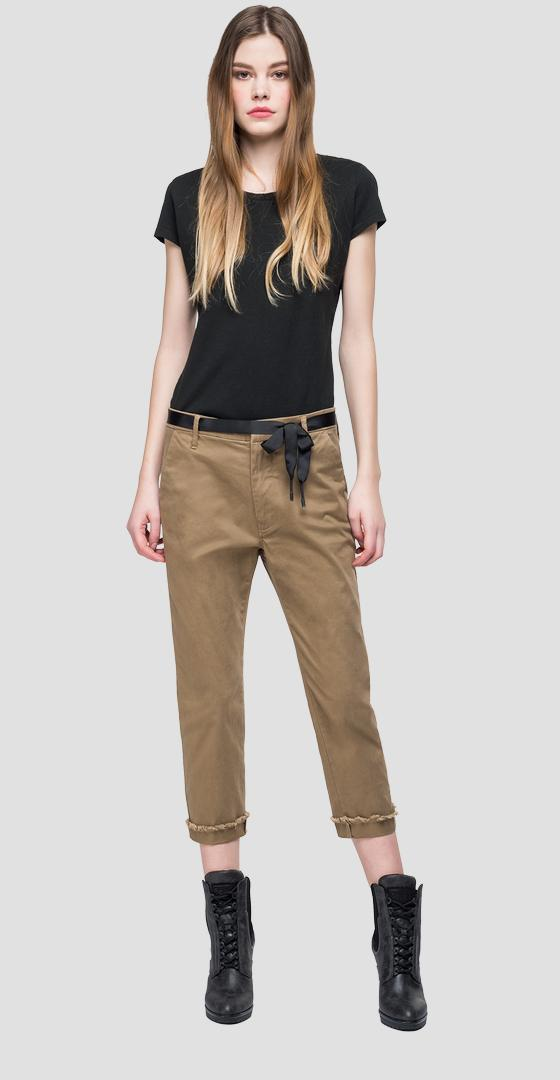Three quarter length trousers w8841b.000.80629