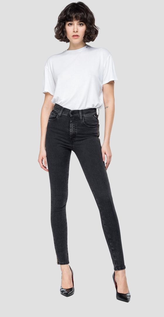 Super Skinny Fit Jeans Leyla Hyperflex Jewel wa414c.000.661 j05