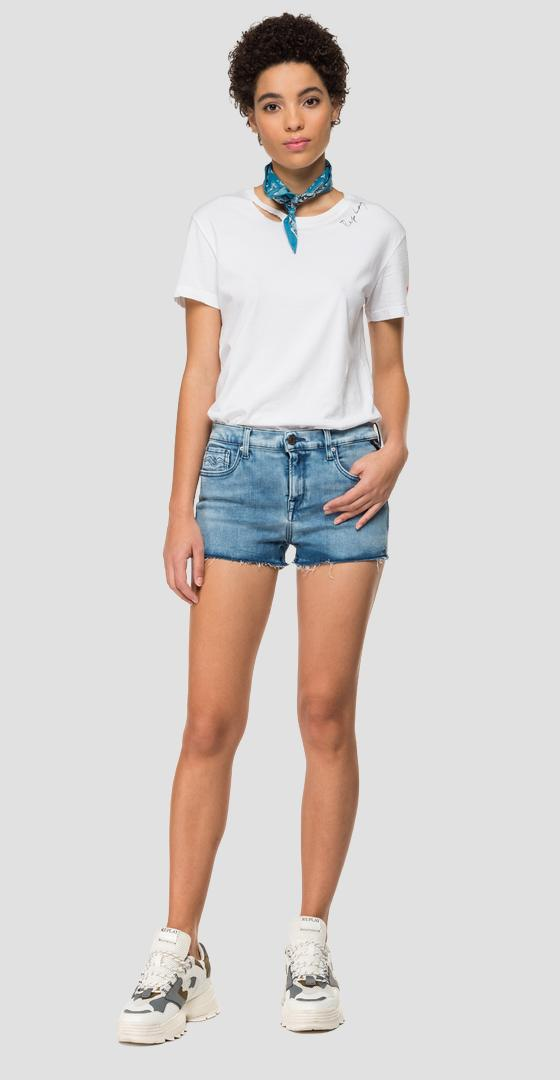 Short en denim Hyperflex Clouds wa695 .000.661 e09