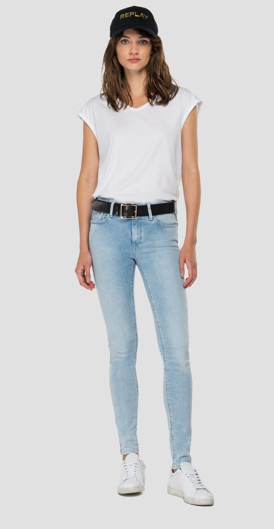 Jean coupe skinny New Luz ROSE LABEL wh689e.000.165 837