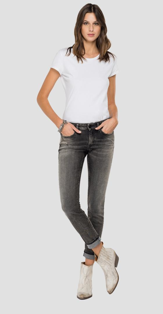 Jean coupe skinny New Luz ROSE LABEL wh689e.000.249 807