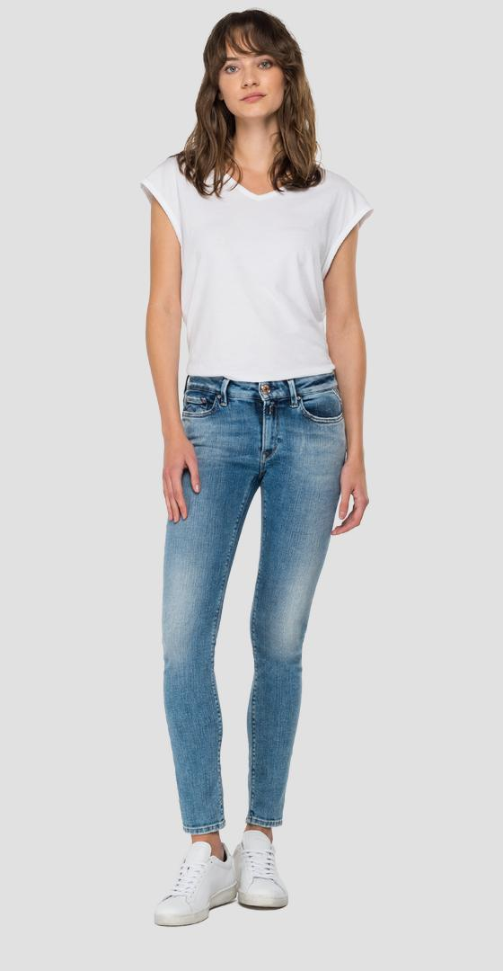 ROSE LABEL skinny fit New Luz jeans wh689e.000.327 838
