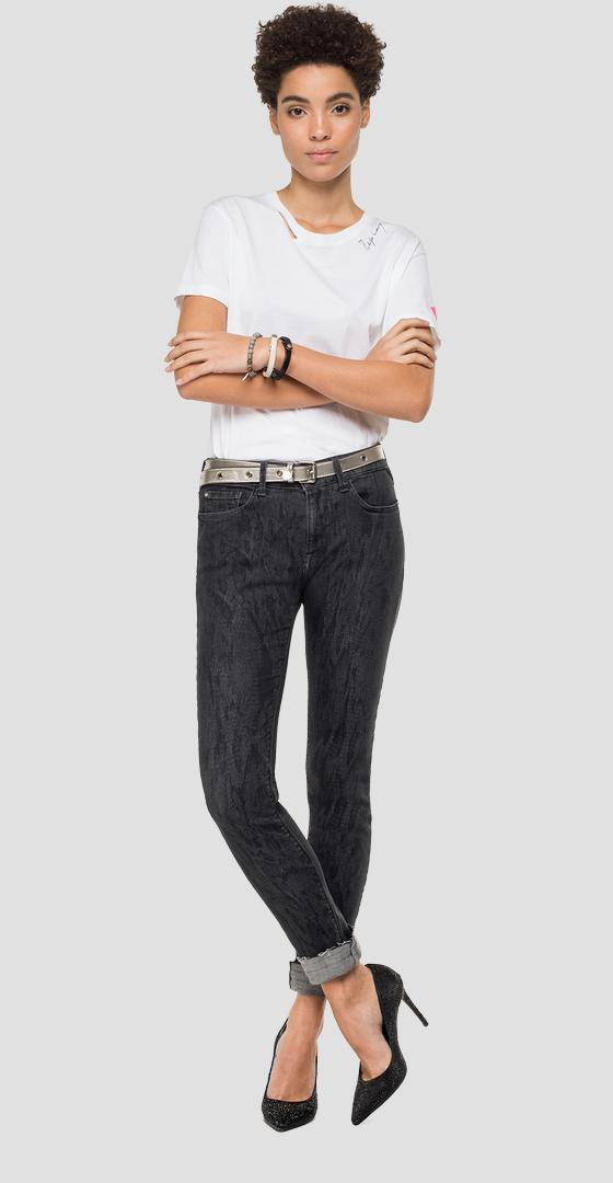 Jeans skinny high waist fit New Luz wh689h.000.249 683