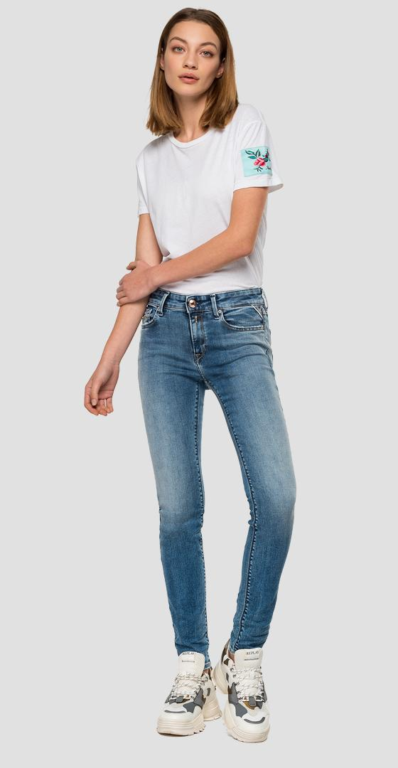 Jeans skinny high waist fit New Luz wh689r.000.227 619