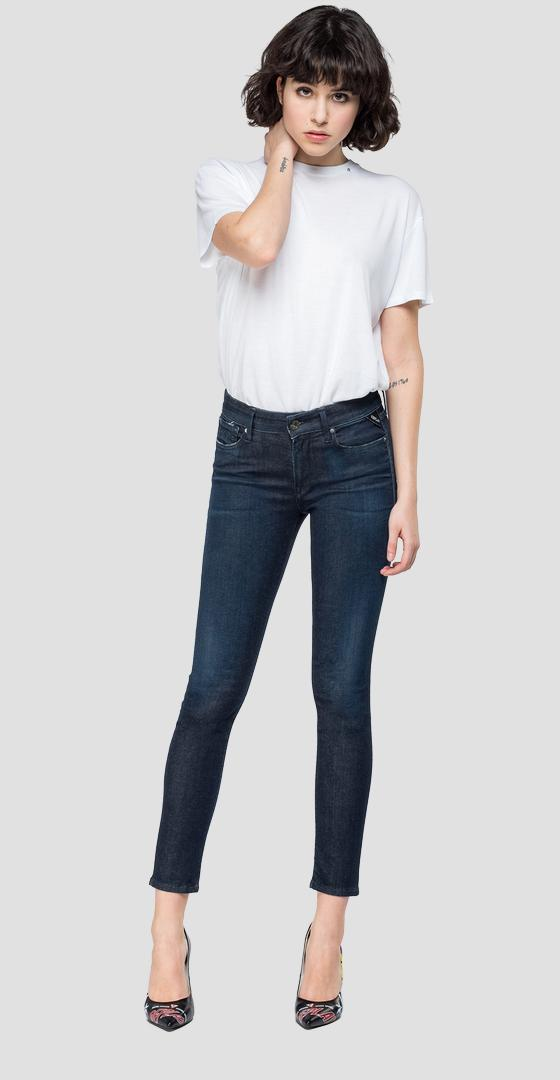 Jeans skinny high waist fit New Luz Hyperflex Clouds wh689 .000.661 e03