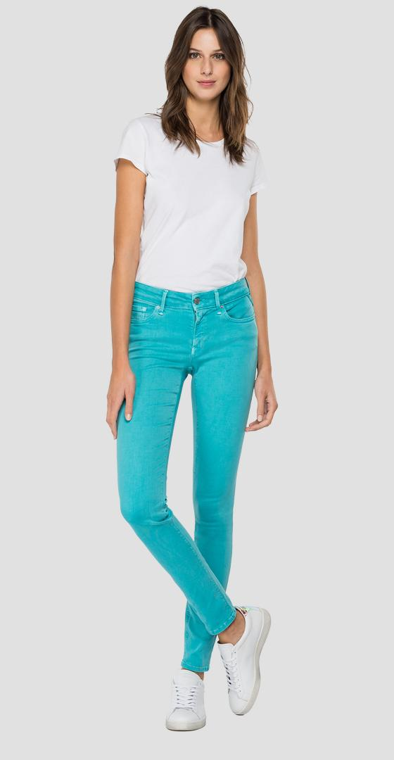 Jeans skinny fit New Luz Hyperflex Color X.L.I.T.E. wh689 .000.8366197