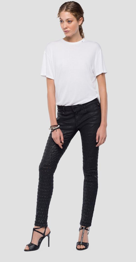 Jean coupe skinny Luz wx689 .000.85b 498