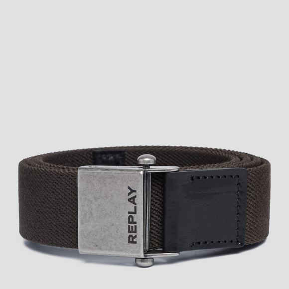 Elasticated Replay belt - Replay AM2545_001_A0017_123_1