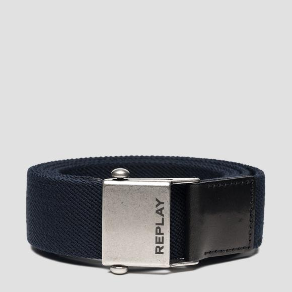 Elasticated Replay belt - Replay AM2545_001_A0017_499_1