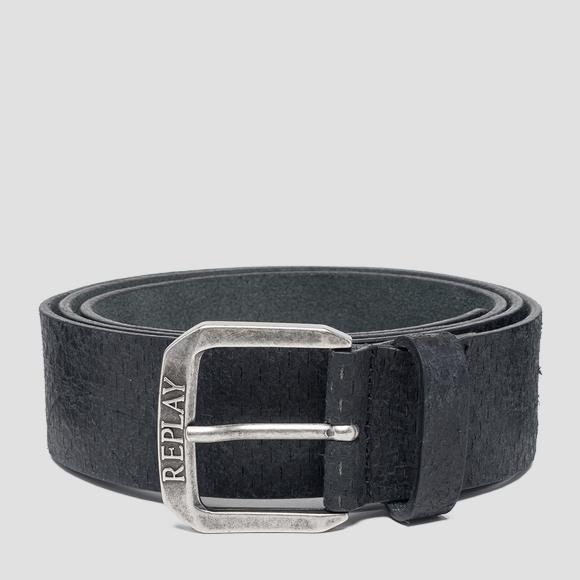 Sioux leather belt - Replay AM2551_000_A3002_098_1