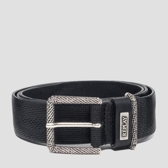 Vintage leather belt - Replay AM2557_000_A3077_098_1