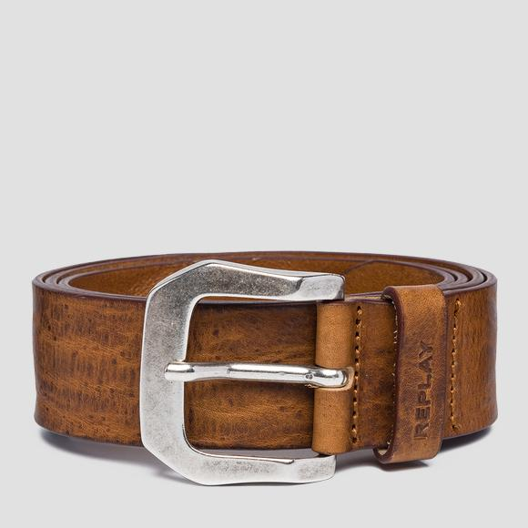 Vintage leather Replay belt - Replay AM2573_000_A3077_045_1