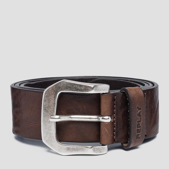 Vintage leather Replay belt - Replay AM2573_000_A3077_117_1