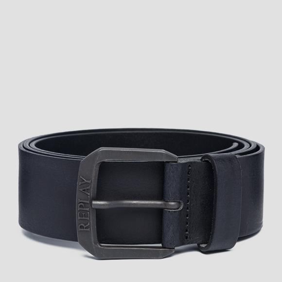 Used effect leather belt - Replay AM2575_000_A3001_098_1