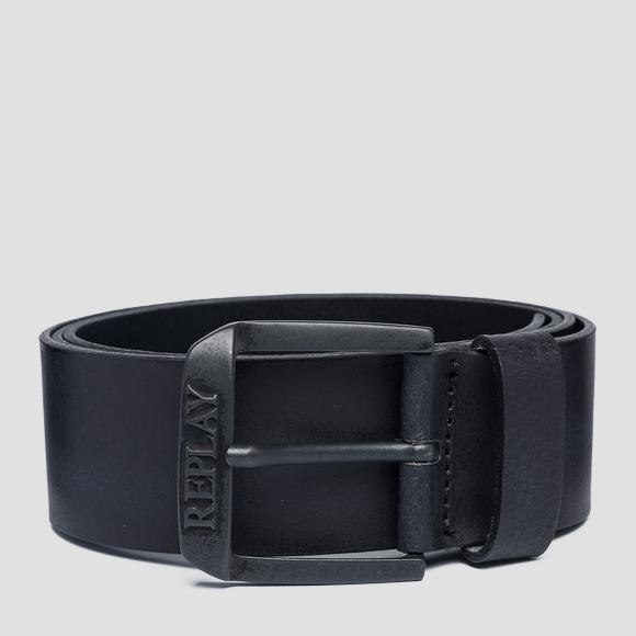 Soft smooth leather belt - Replay AM2583_000_A3001_098_1