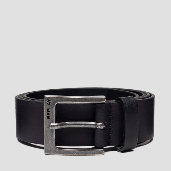 Men's leather belt - Replay AM2586_000_A3001_098_1