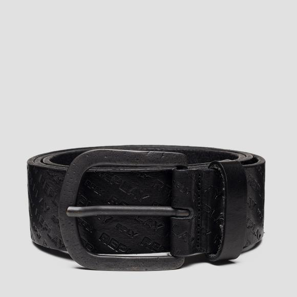 Belt with REPLAY print - Replay AM2594_000_A3007_098_1