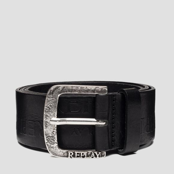 Belt with REPLAY logo - Replay AM2601_000_A3007_098_1