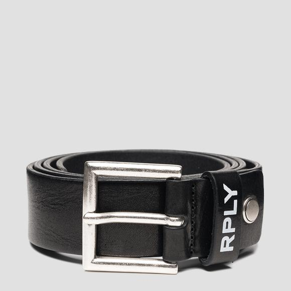 REPLAY hammered leather belt - Replay AM2607_000_A3007_098_1