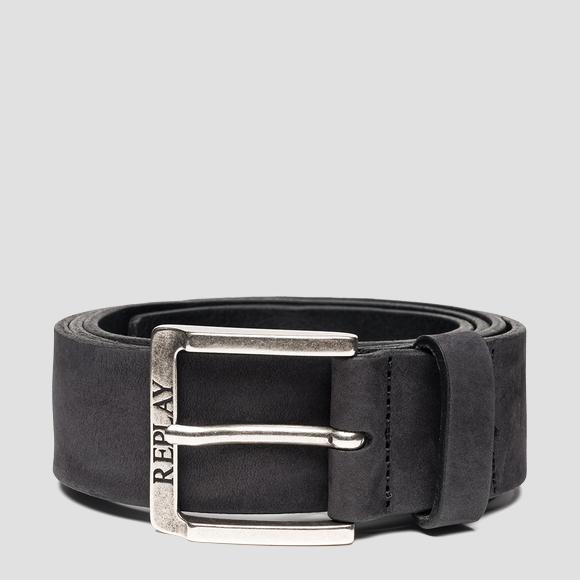 REPLAY belt in nubuck leather - Replay AM2611_000_A3052_098_1
