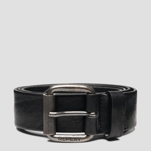 REPLAY belt in vintage leather - Replay AM2613_000_A3077_098_1