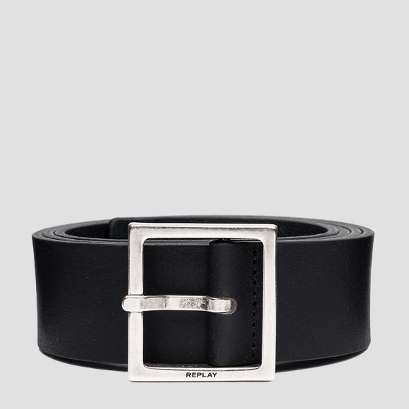 REPLAY smooth leather belt - Replay AM2616_000_A3076_098_1